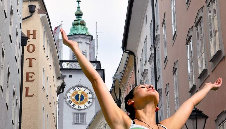 Freude pur beim Shopping in Salzburg.