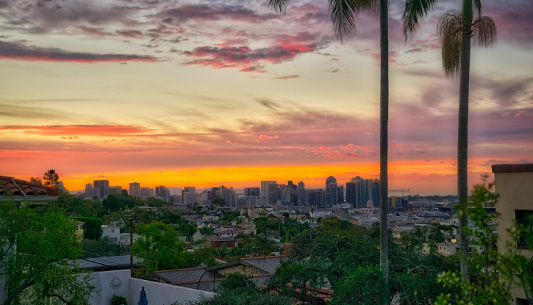 Der etwas ruhigere Stadtteil North Park von San Diego