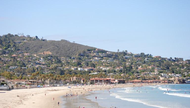 Der wohlhabende Stadtteil Jolla Cove von San Diego