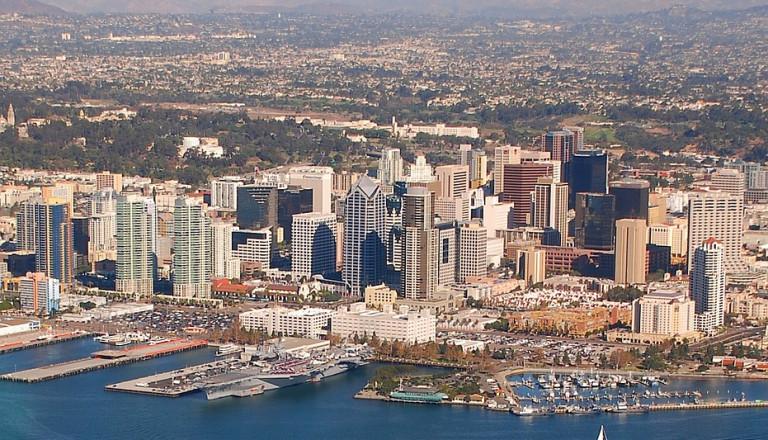 Städteriesen nach San Diego