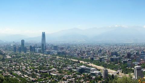 Hauptstadt Santiago de Chile