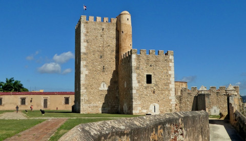 Die historische Altstadt der Hauptstadt Santa Domingo