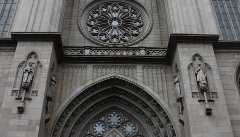 Die Stadtkathedrale von Sao Paulo
