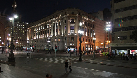 Sao Paulo Städtereisen Center Stadtteil