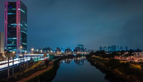 Sao Paulo Stadtansicht