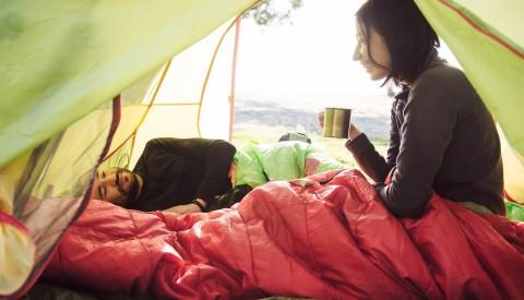 Camping Ausrüstung Schlafsack