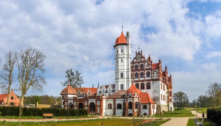 Das Schloss Badedow-Malchin.