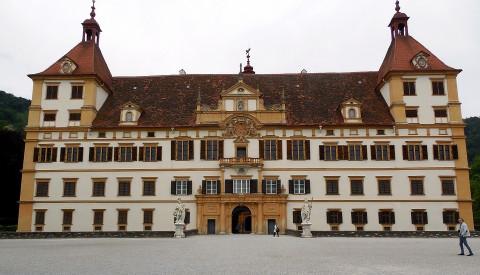 Das Schloss Eggenberg in Graz