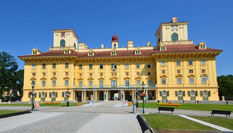 Das Schloss Esterházy in Eisenstadt.