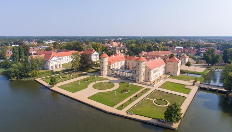 Das Schloss Rheinsberg.