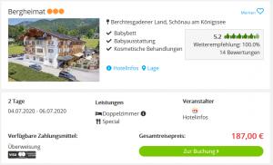 Screenshot Alpen Deal Hotel Bergheimat