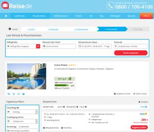 Screenshot Bulgarien Deal Ivana Palace