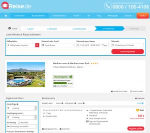 Screenshot Costa Brava Deal Mediterraneo Park