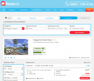 Screenshot Curacao Deal Chogogo Dive & Beach Resort