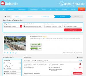 Screenshot Dom. Rep. Deal Playabachata Resort