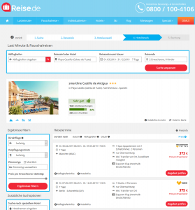Screenshot Fuerteventura Deal smartline Castillo de Antigua