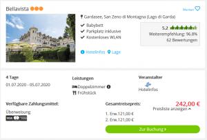 Screenshot Gardasee Deal Hotel Bellavista