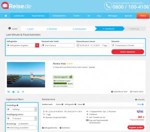 Screenshot Gran Canaria Deal 3* Hotel Riviera Vista