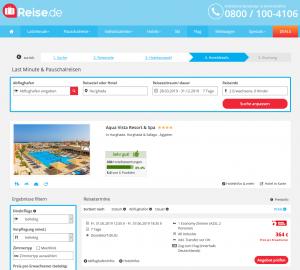 Screenshot Hurghada Deal Aqua Vista Resort & Spa