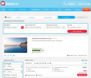 Screenshot Kefalonia Deal Apostolata Island Resort & Spa