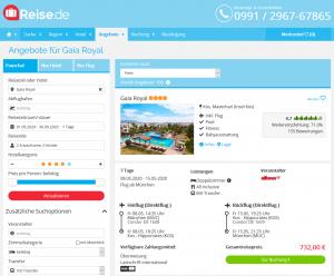 Screenshot Kos Deal Hotel Gaia Royal