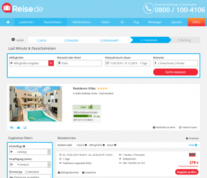 Screenshot Kreta Deal Residence Villas