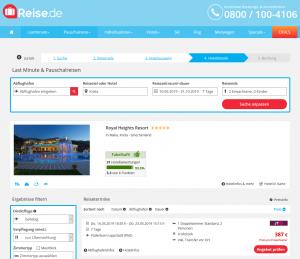 Screenshot Kreta Deal Royal Heights Resort