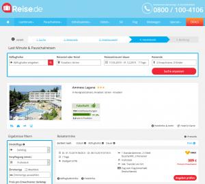 Screenshot Kroatien Deal Aminess Laguna