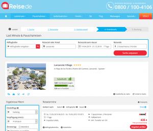Screenshot Lanzarote Deal Lanzarote Village