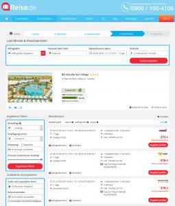 Screenshot Mallorca Deal BQ Alcudia Sun Village