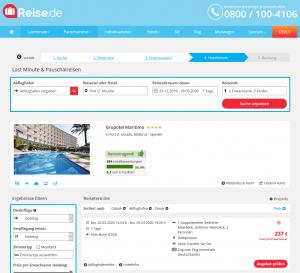 Screenshot Mallorca Deal Grupotel Maritimo