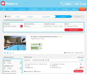 Screenshot Mallorca Deal Hotel Roc Oberoy