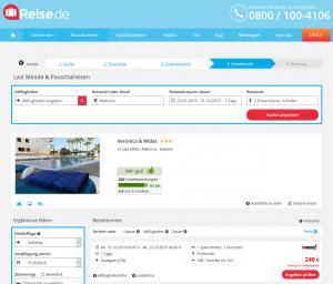 Screenshot Mallorca Deal Hotel Veronica & Midas