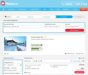 Screenshot Österreich Deal Pension Salater Hof