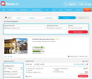 Screenshot Österreich Deal Schönblick Mountain Resort & Spa