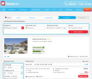 Screenshot Portugal Deal Quinta Do Mar Da Luz