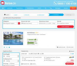 Screenshot Samos Deal Hotel Saint Nicholas
