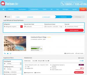 Screenshot Sardinien Deal Castelsardo Resort Village