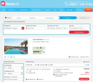 Screenshot Sardinien Deal Liscia Eldi Resort