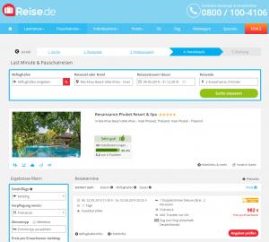 Screenshot Thailand Deal Renaissance Phuket Resort & Spa