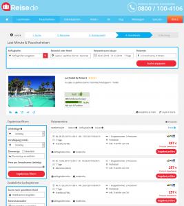 Screenshot Zypern Deal La Hotel & Resort