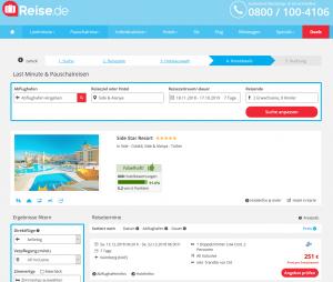 Screenshot Deal Side Star Resort