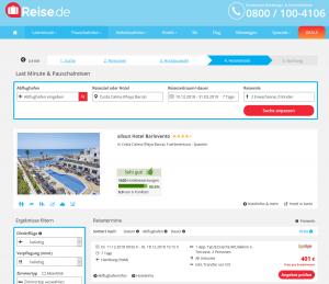 Screenshot Fuerteventura Deal