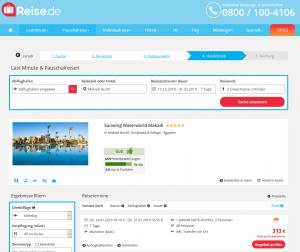 Screenshot Sunwing Waterworld Makadi
