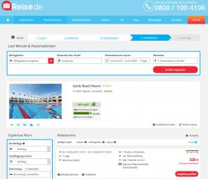 Screenshot Lanzarote Deal Sands Beach