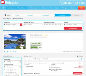 Screenshot Deal Side Terrace Resort