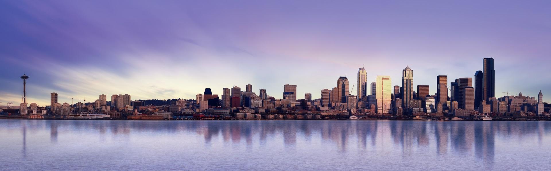 Seattle Panorama Stadtteile Städtereisen