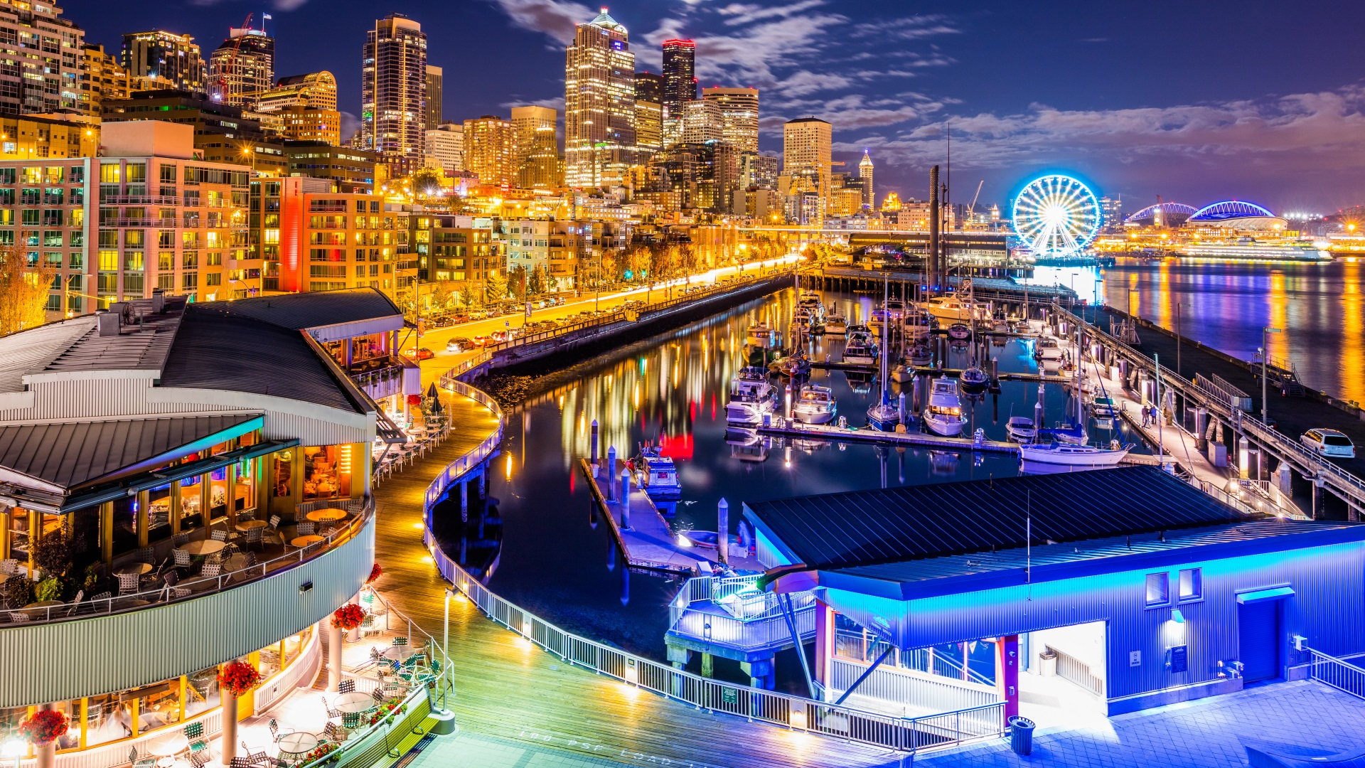 Seattlte Stadtteile Städtereisen Pier 66