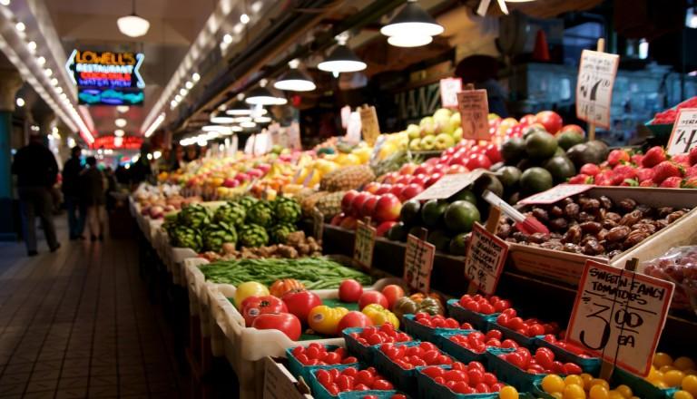 Pike Place Market Städtreisen Seattle