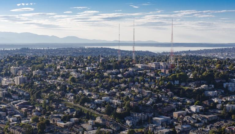 Seattles Stadtteil Queen Anne Städtereisen